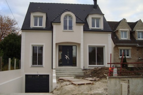 Construction maison individuelle 93 – Maison contemporaine Tremblay