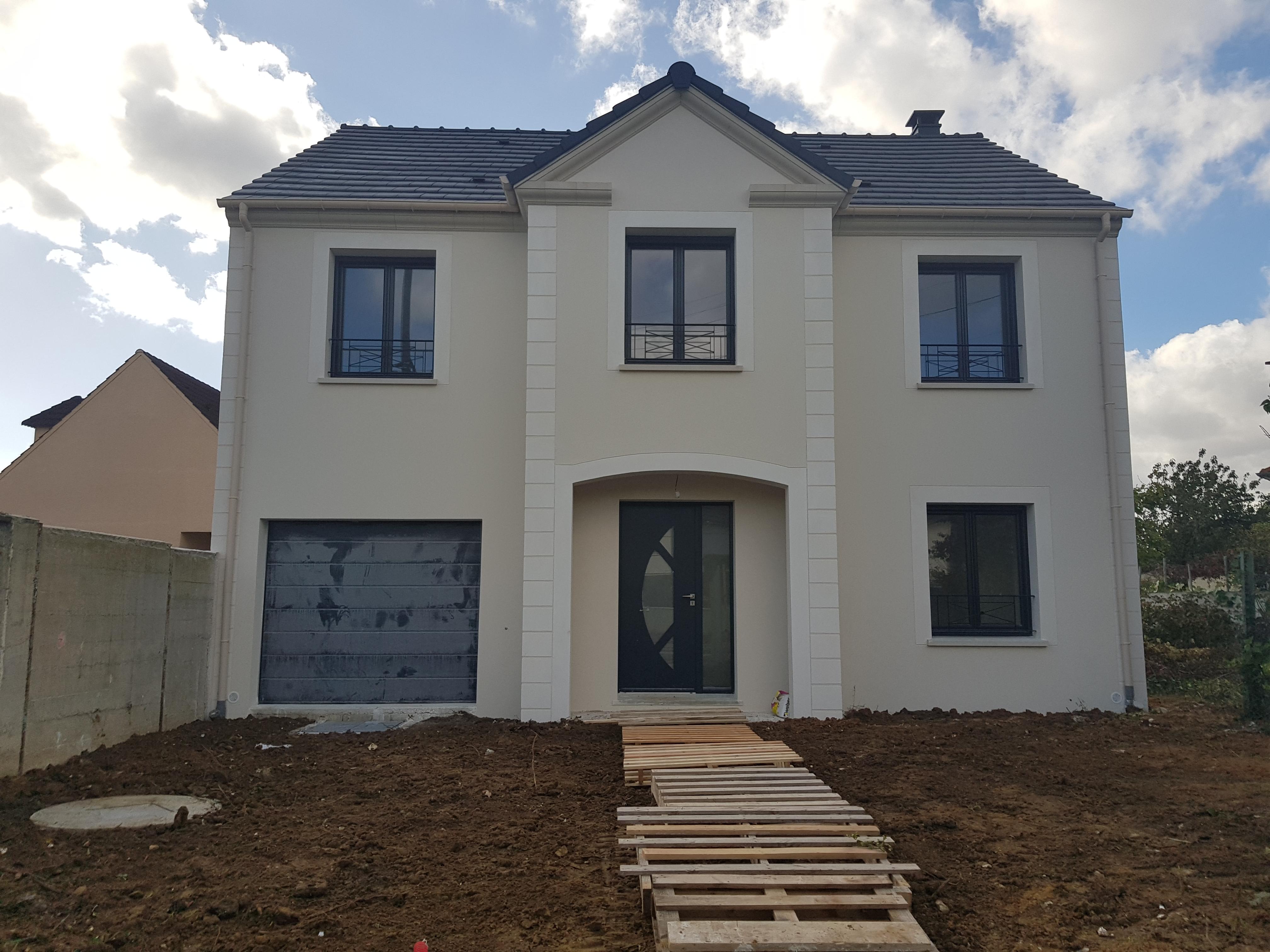 construction maison contemporaine maisons fran ois guy. Black Bedroom Furniture Sets. Home Design Ideas