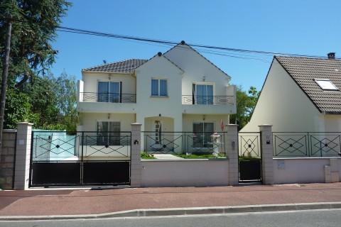 Construction maison individuelle contemporaine 93 – Tremblay en France