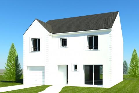 Maison VS +R+R1 de 100 m² environ + garage intégré 11 m² - RT 2012