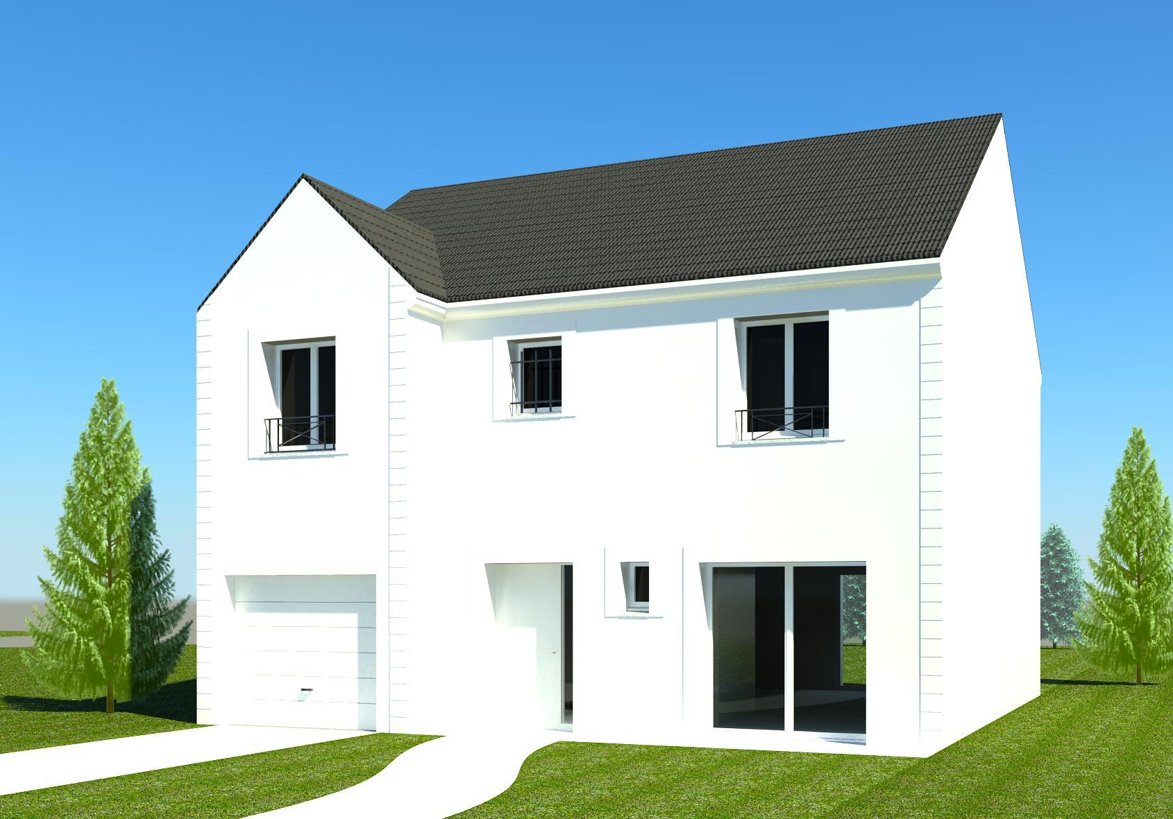 Construction maison moderne 93 77 60 02 - Prix maison moderne BBC