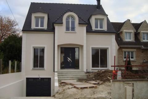 Construction maison individuelle 93 – Maison contemporaine Tremblay