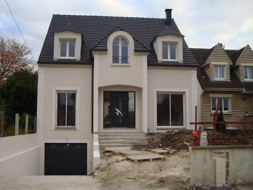 Porche D Entrée Maison Contemporaine construction maison individuelle 93 – maison contemporaine